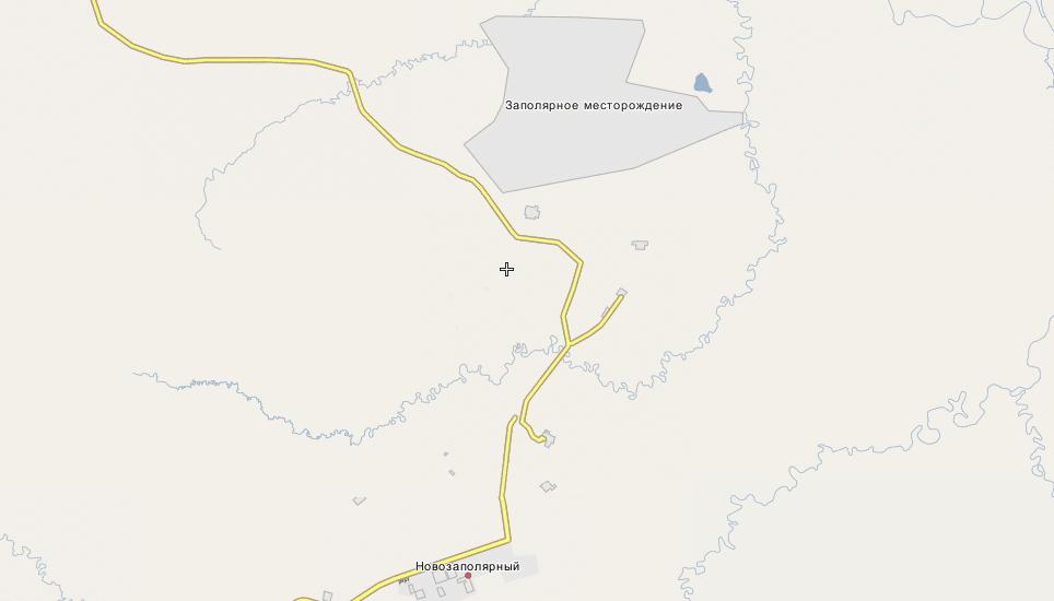 Заполярное месторождение фотография викимапия